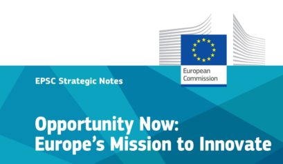 opportunity now europes mission to innovate