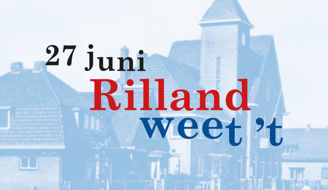 27 juni: Rilland weet 't